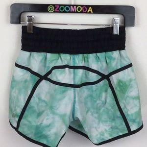 Lululemon Tracker Tidal Trip Tie Dye Shorts 6